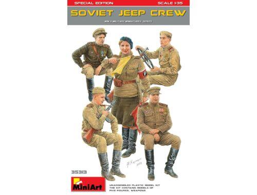 MiniArt Soviet Jeep Crew. Special Edition (35049 1:35 (35313)