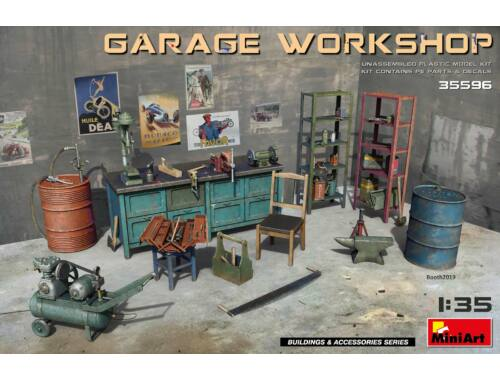 MiniArt Garage Workshop 1:35 (35596)