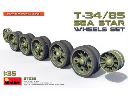 MiniArt T-34/85 Sea Star Wheels Set 1:35 (37033)