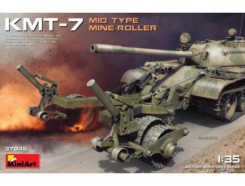 MiniArt KMT-7 Mid Type Mine-Roller 1:35 (37045)