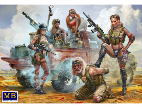 Master Box Desert Battle Series. Skull Clan - New Amazons 1:35 (35199)