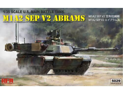 Rye Field Model M1A2 SEP V2 ABRAMS 1:35 (RM-5029)