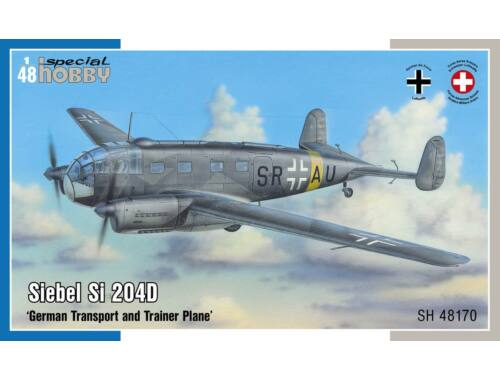 Special Hobby Siebel Si 204D Transport and Trainer Plane 1:48 (48170)