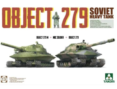 Takom Object 279/279M   NBC Soldier 1:72 (TAK5005)