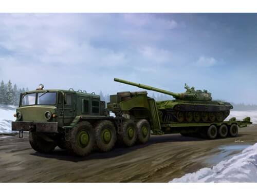 Trumpeter MAZ-537G Late type with ChMZAP-9990 semi-trailer 1:35 (01065)
