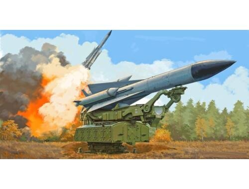 Trumpeter Russian 5V28 of 5P72 Launcher SAM-5 Gammon 1:35 (9550)