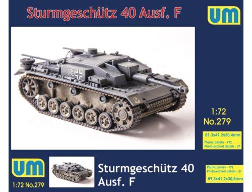 Unimodels Sturmgeschutz 40 Ausf F 1:72 (UM279)