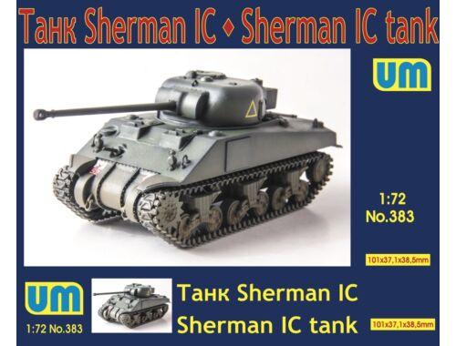 Unimodels Medium tank Sherman IC 1:72 (UM383)