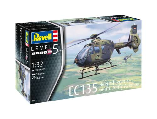 Revell EC 135 Heeresflieger - German Army Aviation 1:32 (4982)