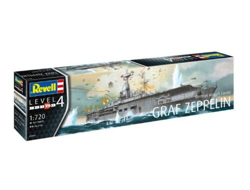 Revell German Aircraft Carrier GRAF ZEPPELIN 1:720 (5164)