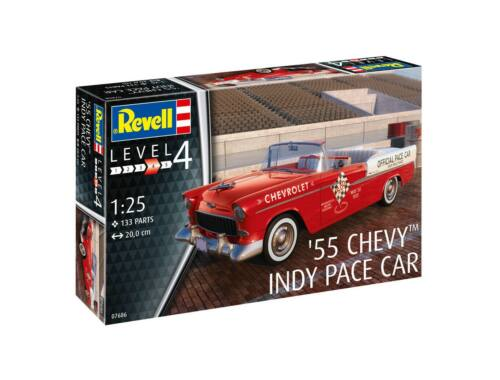 Revell '55 Chevy Indy Pace Car 1:25 (7686)