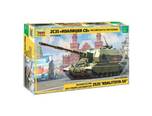 Zvezda 2S35 Koalitsiya-SV Russian SPH 1:35 (3677)