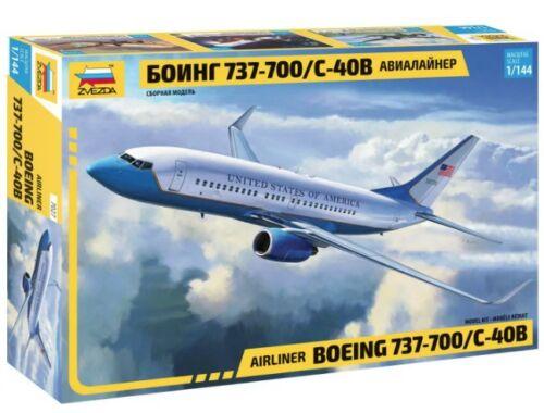 Zvezda Boeing 737-700/C-40B 1:144 (7027)