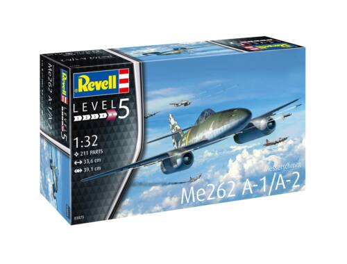 Revell Me262 A-1 Jetfighter (3875)