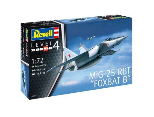 Revell MiG-25 RBT Foxbat B 1:72 (3878)