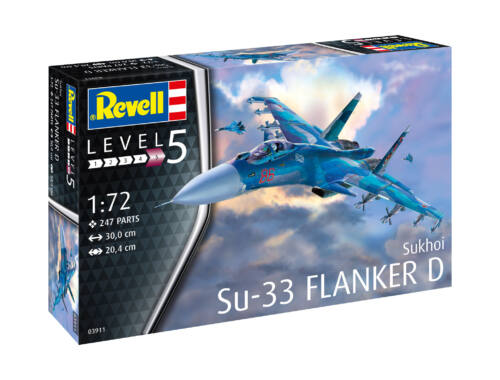 Revell Sukhoi Su-33 Navy Flanker D 1:72 (3911)