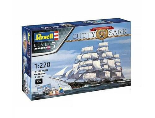 Revell Gift Set Cutty Sark 150th Anniversary 1:220 (5430)