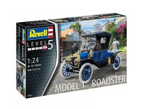 Revell Ford T Modell Roadster (1913) 1:24 (7661)