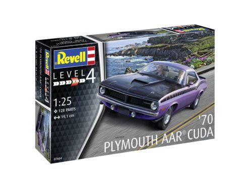Revell 1970 Plymouth AAR Cuda 1:25 (7664)