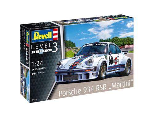 Revell Porsche 934 RSR Martini 1:24 (7685)