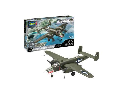 Revell Model set B-25 Mitchell Easy Click 1:72 (63650)
