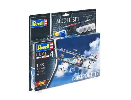 Revell Model set Nieuport 17 1:48 (63885)