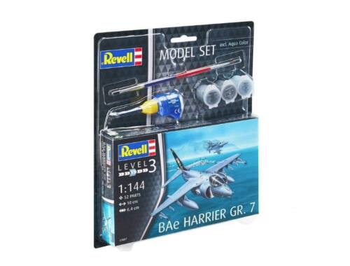 Revell Model set BAe Harrier GR.7 1:144 (63887)
