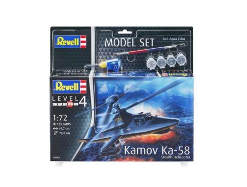 Revell Model set Kamov Ka-58 Stealth 1:72 (63889)