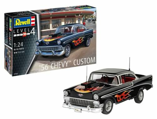 Revell Model set '56 Chevy Customs 1:24 (67663)