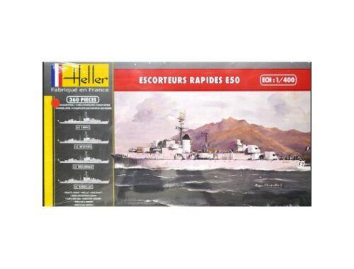 Heller Escorteurs Rapides E 5O 1:400 (81093)