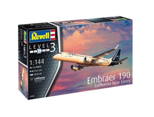 Revell Embraer 190 Lufthansa New Livery 1:144 (3883)