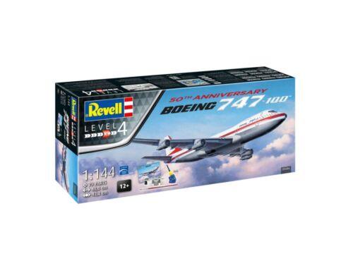 Revell Gift Set Boeing 747-100, 50th Anniversary 1:144 (5686)
