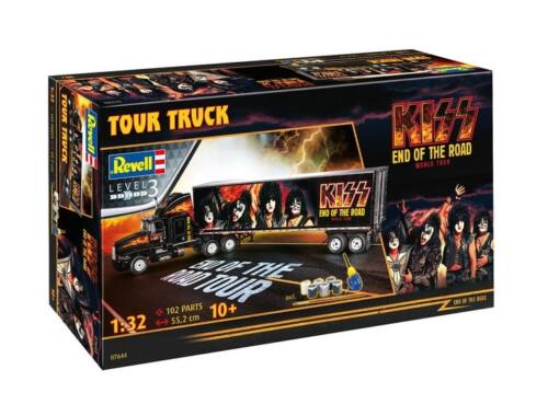 Revell Gift Set KISS Tour Truck 1:32 (7644)