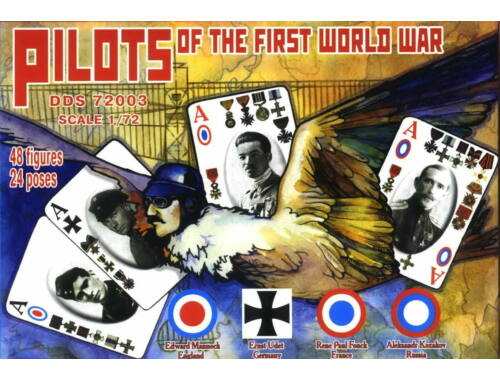 DDS Pilots of the First World War in 1:72 (72003)