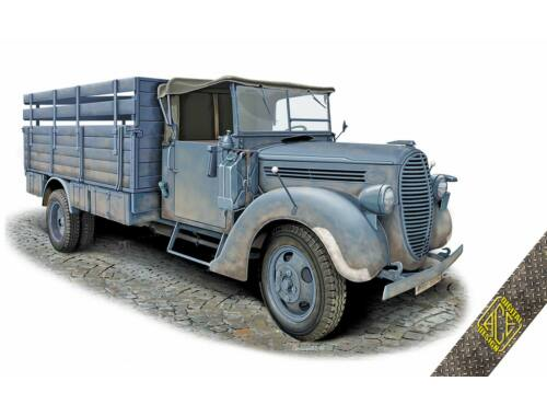 ACE G917T 3t German cargo truck (m.1939 soft cab) 1:72 (72575)