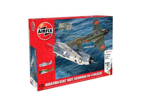 Airfix Dogfight Double B5N Kate/Wildcat F4F-4 1:72 (A50169)