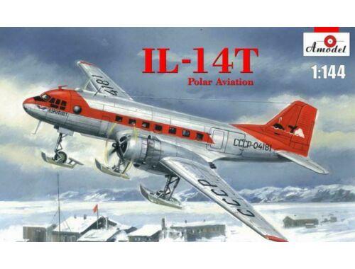 Amodel Ilyushin IL-14T Polar aviation 1:144 (AMO1481)