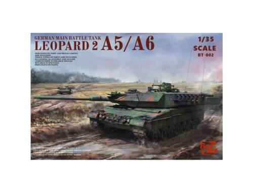 Border Model LEOPARD 2 A5/A6/EARLY A6 3-in-1 1:35 (BT002)