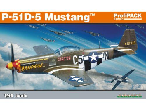 Eduard P-51D-5, Profipack 1:48 (82101)