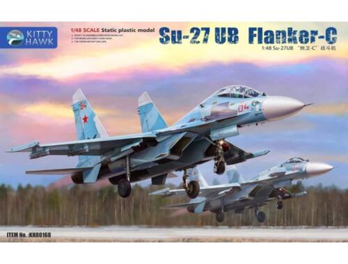 Kitty Hawk Su-27 UB Flanker C 1:48 (80168)