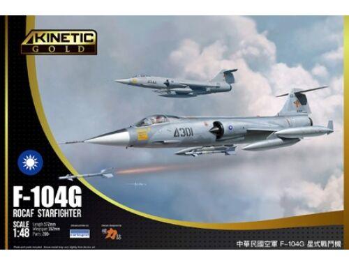 KINETIC F-104G ROCAF 1:48 (K48077)