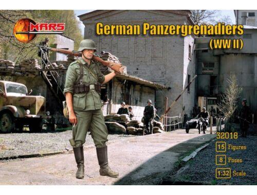 Mars Figures German panzergrenadiers WWII 1:32 (MS32018)