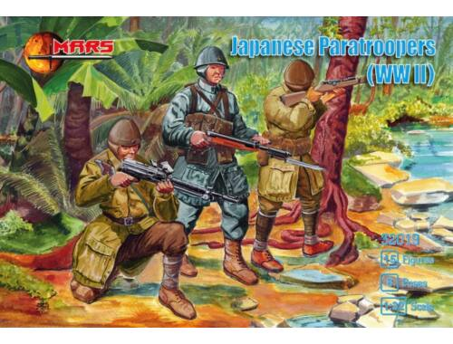 Mars Figures Japanese Paratroopers WWII 1:32 (MS32019)