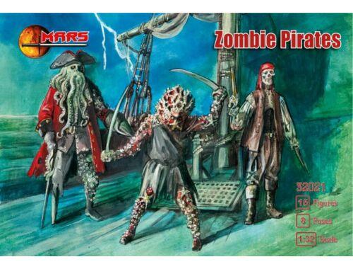 Mars Figures Zombie Pirates 1:32 (MS32021)