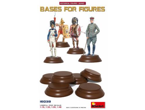 MiniArt Bases set for Figures 6 pcs 1:16 (16039)