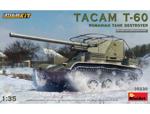 MiniArt Tacam T-60 Romanian Tank Destroyer. Interior Kit 1:35 (35230)