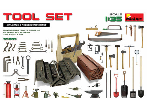 MiniArt Tool Set 1:35 (35603)