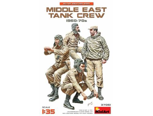 MiniArt Middle East Tank Crew 1960-70s 1:35 (37061)