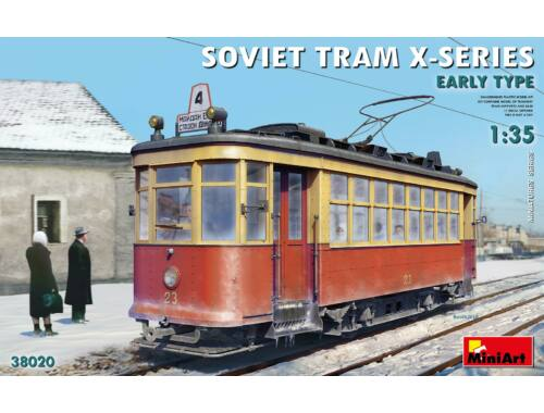 MiniArt Soviet Tram X-Series. Early Type. 1:35 (38020)