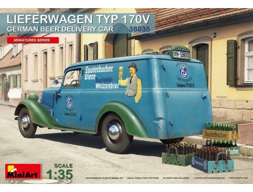 MiniArt Lieferwagen Typ 170V German Beer Delivery Car 1:35 (38035)